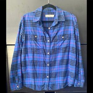 Women's Hanna Andersson flannel shirt